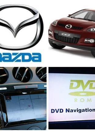Mazda CX-7 CX-9 Диск с картами навигации  Мазда