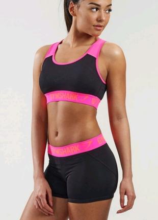 Комплект (шорты и топ) gymshark