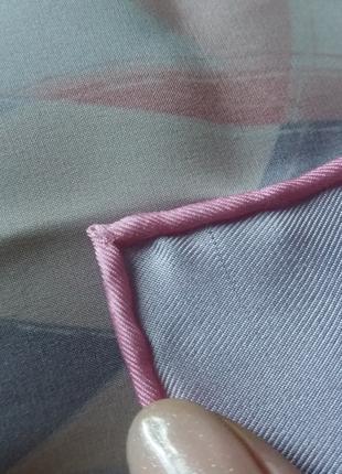 Ручной подшив платков