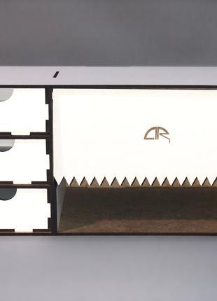 Органайзер для моделиста, настольный, под бумажное полотенце