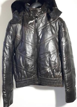 Ghivenchy мужская кожаная куртка