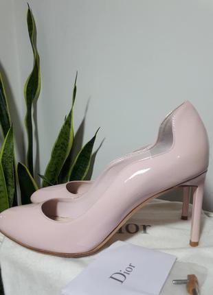 Christian dior идеальные лаковые туфли