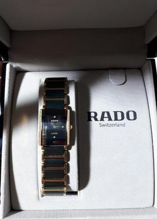 Женские часы rado integral jubile 18k yg & diamond 153.0339.3