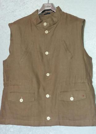 Lorenz bach куртка без рукавов из льна