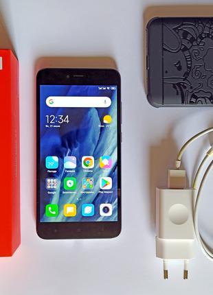 Xiaomi Redmi Note 5A   2/16 GB   Dark grey   полный комплект
