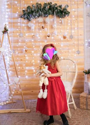 Фирменное,выпускное,праздничное платье на выпускной до 7 лет п...