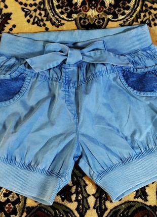 Шорты летние под джинс девочке. Турция