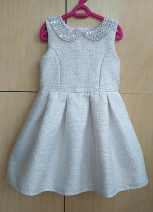 Нарядное платье tu на 7 лет