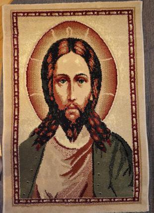 коврик настенный с изображением Исуса