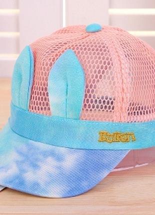 Бейсболка, кепка, головные уборы детские для девочки