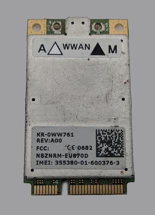 3G Модем Dell Wireless 5520 / Novatel EU870D / HSDPA/UMTS