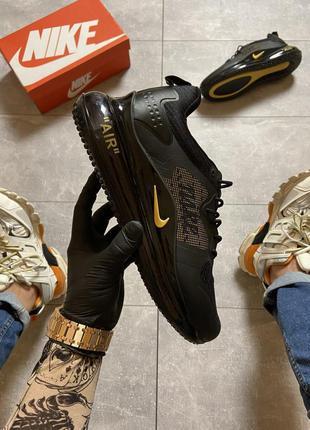 Мужские кроссовки nike air max 720 black gold