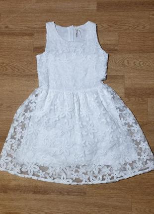 Платье next на 8-9 лет
