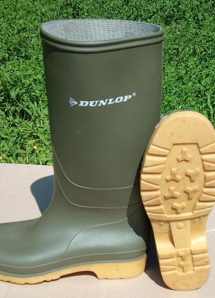 Резиновые сапоги Dunlop р-р 37 Качественные и удобные