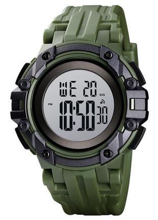 Оригинальные мужские наручные часы Skmei 1545 Green