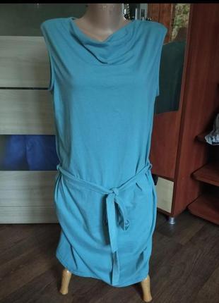 ❤️❤️❤️платье платья миди бирюза 50/52 размер