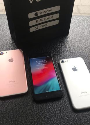 (Айфон 7) iPhone 7 32-128-256Gb Black/Silver/Rose + 5s/6/8/X/Plus