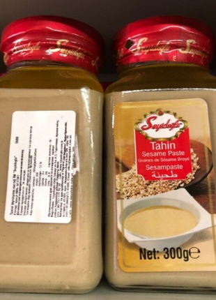 Кунжутная паста Tahin Seyidoğlu SesamPaste Турция Кунжут 100%