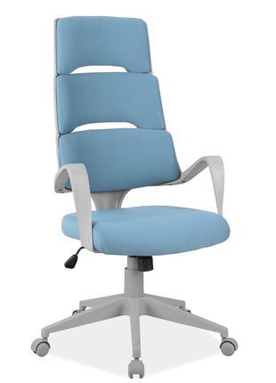 Офисное кресло Q-889 Голубой