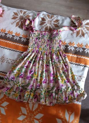 Платье-сарафан на девочку