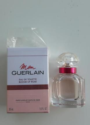 Туалетная вода guerlain mon guerlain bloom of rose