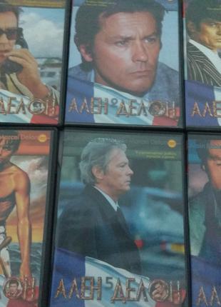 Весь АЛЕН ДЕЛОН на 6 DVD новые диски