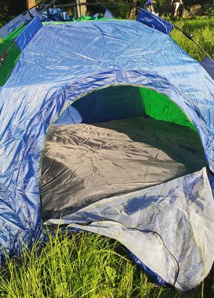 Автоматическая, 2-х спальная, туристическая пляжная палатка