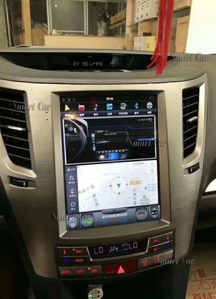 Головное устройство Subaru Legacy Outback Tesla style