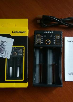 Универсальное зарядное устройство LiitoKala lii-202