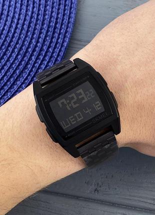 Оригинальные мужские наручные часы Skmei 1368 Black