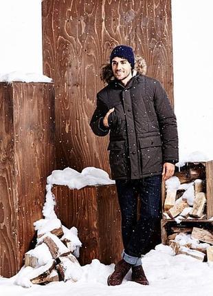 Мужская зимняя парка george англия