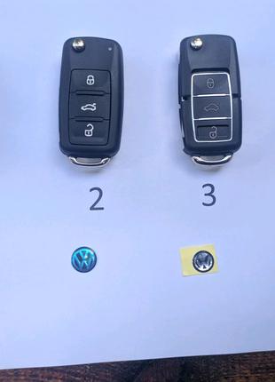 Ключ заготовка, корпус для Skoda, VW, Audi