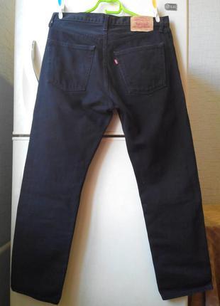 Черные джинсы levis 521 w34 l30
