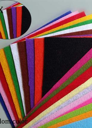Фетр,листы фетра.плотная ткань для поделок,полиэстер.