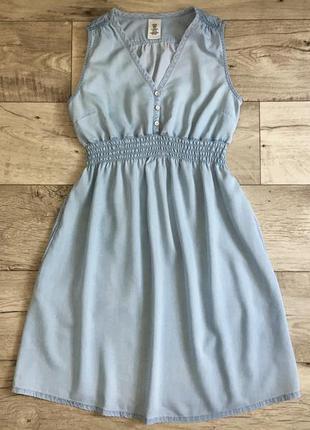 Летнее платье с h&m лиоцелл для беременных