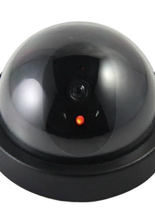 Муляж камеры видеонаблюдения купольная камера