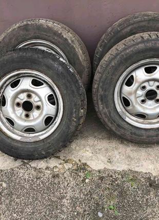 Продам 4 колеса в зборі