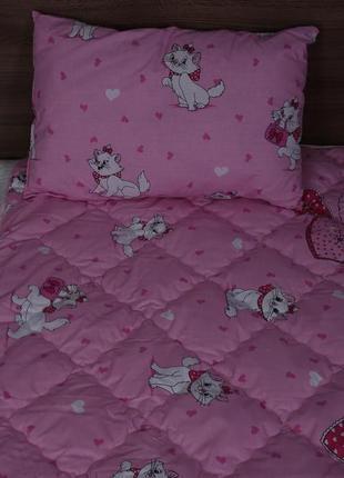 Одеяло подушка детские овчина