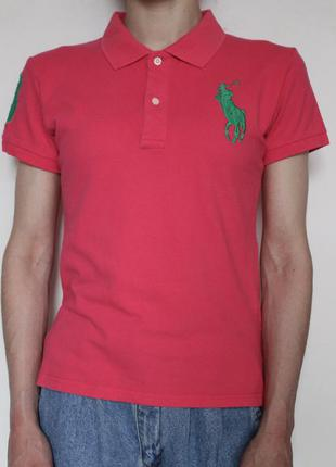 Ralph lauren женское поло футболка