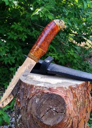 Эксклюзивный Нож Волкодав Кап