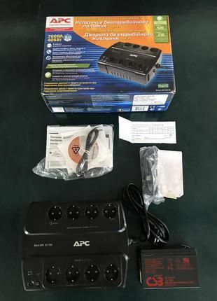 Источник бесперебойного питания APC Back-UPS ES 700VA BE700G-RS