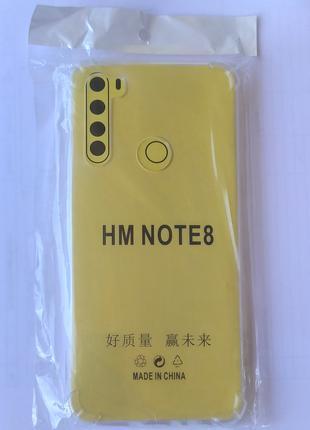 Бампер Xiaomi Redmi Note 8 чехол силиконовый