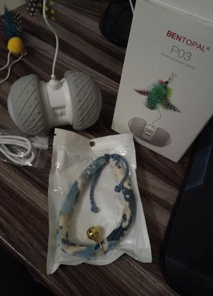 Смарт игрушка для домашних питомцев со сменными насадками