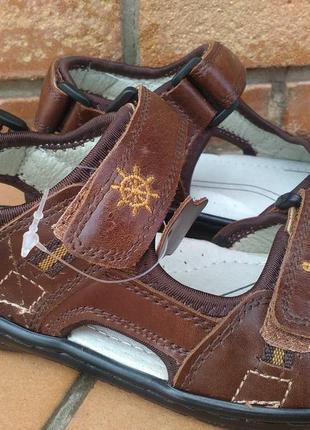 Кожаные сандалии босоножки на мальчика 32,33,34,35,36,37 р.
