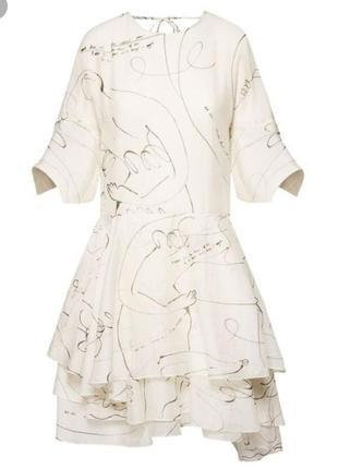 Воздушное летнее платье h&m conscious. лиоцелл