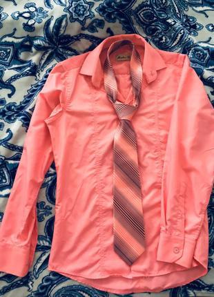 Сорочка галстук розмір S рубашка