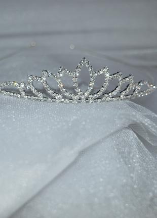 Тиара свадебная диадема
