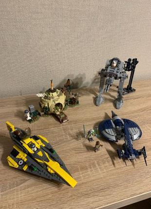 Lego Star Wars 3 набора в сборе