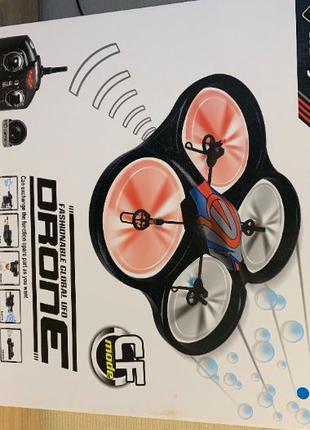 Квадрокоптер дрон WLtoys V333 с камерой