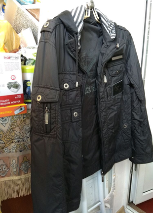 Двойная куртка осень /весна